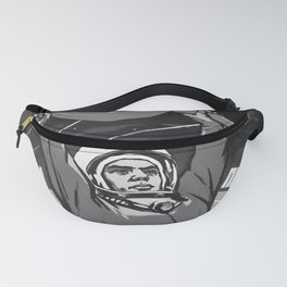 soviet, Glory to the Soviet people, the pioneers of space! Fanny Pack