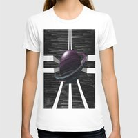 saturn T-shirts featuring Saturn by Isaak_Rodriguez