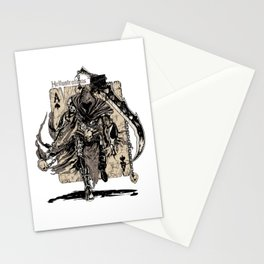 The Ace Of Spades Warrior Stationery Cards