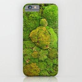 Green moss carpet No2 iPhone Case