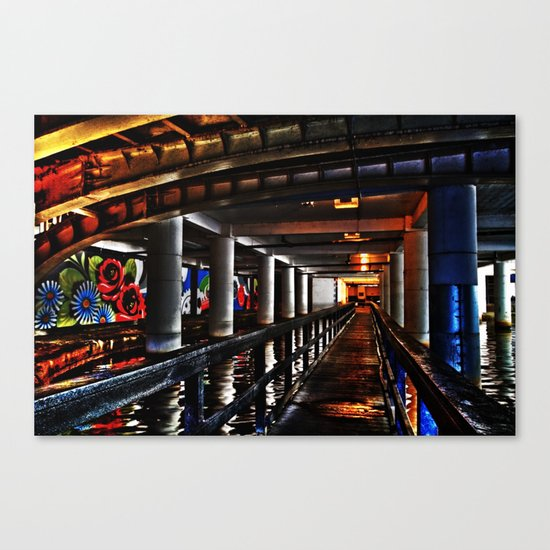 Under Piccadilly Canvas Print