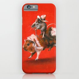Rodent Rodeo iPhone Case