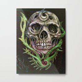 CRÁNEOS 12 Metal Print