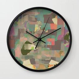 Abstract Painting No. 11 Wall Clock