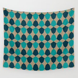 Irregular Hex Wall Tapestry
