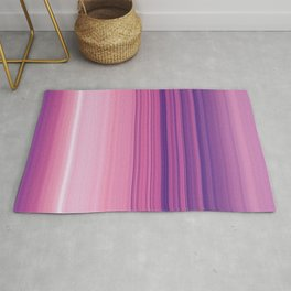 Abstract Vertical Violet and pink stripes Rug