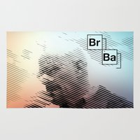 breaking bad Area & Throw Rugs featuring Breaking Bad by Crazy Thoom