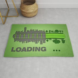 save the nature Rug
