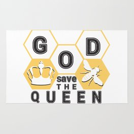 God save the queen_2 Rug