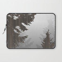 Norway Black Laptop Sleeve