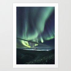 Aurora Borealis 2 Art Print