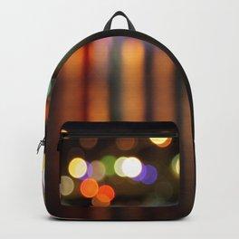 Bokeh City Night Lights Backpack
