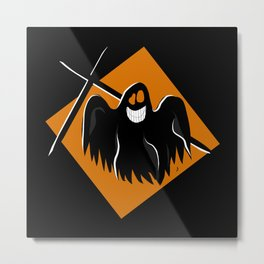 Ghost - Halloween Collection Metal Print