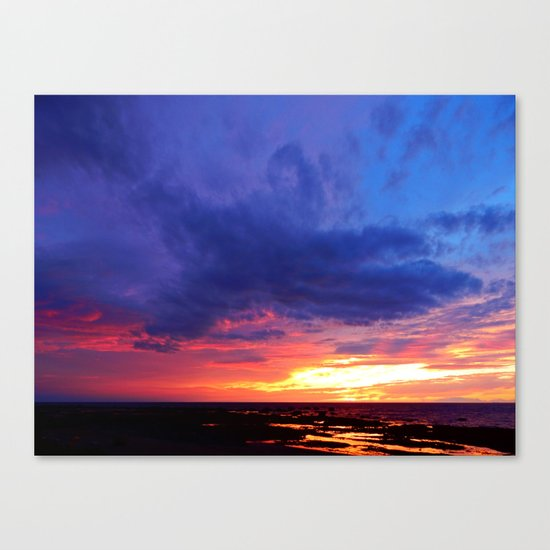 Evening's Face Canvas Print