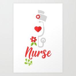 NURSING: Nurse Squad gift idea / present Art Print