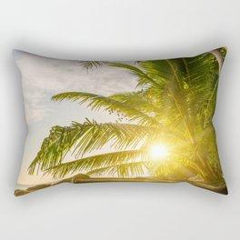 Surin beach at sunset Rectangular Pillow