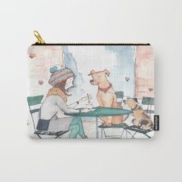 Coffee With Friends Carry-All Pouch