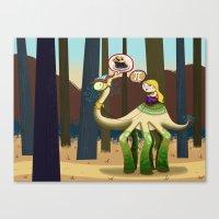pie Canvas Prints featuring Pie? by Megan Unser