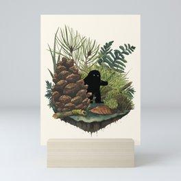 Tiny Sasquatch Mini Art Print