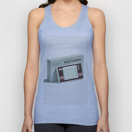 Lo-Fi goes 3D - Handheld Game Console Unisex Tank Top