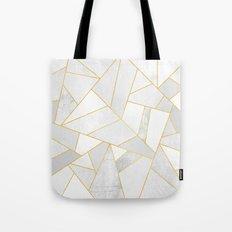 White Stone Tote Bag