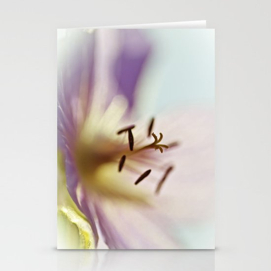 Lilac Blues Stationery Cards