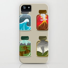 Disaster In A Jar iPhone Case