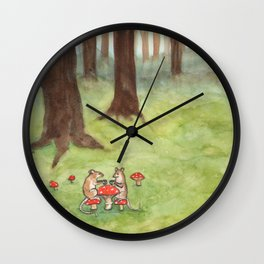 Morning Tea Wall Clock