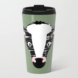 Cute Cow Face Travel Mug