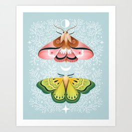 Moth | Moon Children Art Print