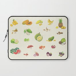 Tropical Fruits Laptop Sleeve