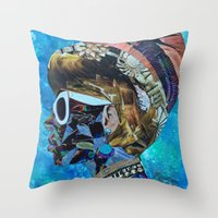 birthday Throw Pillows featuring Birthday by Katy Hirschfeld