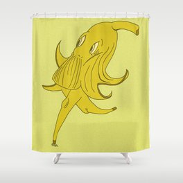 The Old Frolicking Banana Shower Curtain