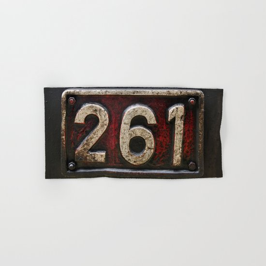 261 number Hand & Bath Towel