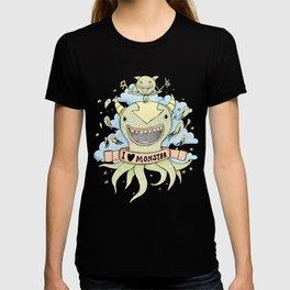I love monster T-shirt