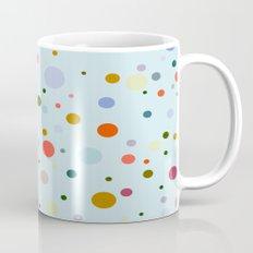Blue Confetti Mug