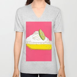 Key Lime Pie Unisex V-Neck