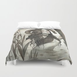The Witch of the Mire Duvet Cover