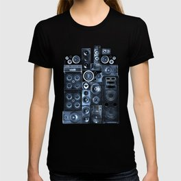 Music Speaker Sound Stack T-shirt