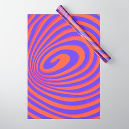 casual spiral 2 Wrapping Paper