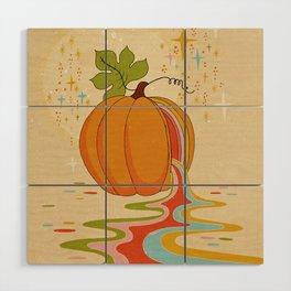 Pumpkin season Wood Wall Art