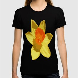 Spring Daffodil Vector Isolated T-shirt
