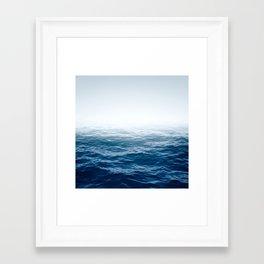 Cranky Ocean Framed Art Print