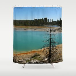 Amazing Hot Spring Colors Shower Curtain
