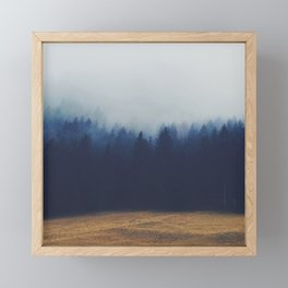 Misty Forest  2 Framed Mini Art Print