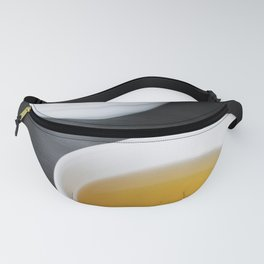 Afternoon black tea with white teapot Fanny Pack