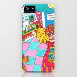 Happy Childhood Memories iPhone Case