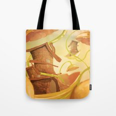 There Once Was A House Tote Bag