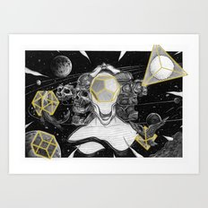 earth air water fire ether Art Print