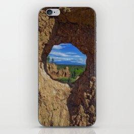 Window Tatacoa iPhone Skin